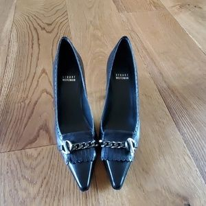 Stuart Weitzman black dress shoes
